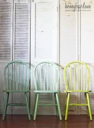 Painted Kitchen Table And Chairs by Best 25 Painted Dining Chairs Ideas On Pinterest Spray Painted