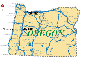 map of oregon eugene contact
