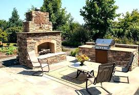 Outdoor Kitchen Pizza Oven Design Fireplace Pizza Oven Pizza Oven Fireplace Combo Completed