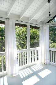 Sun Porch Curtains Balcony Curtains Outdoor Back Porch With Be Great To Block A