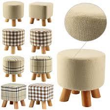 upholstered stool ebay