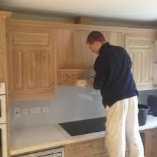 Limed Oak Kitchen Cabinet Doors Fascinating Painted Smallbone Limed Oak Kitchen Bath Of Doors