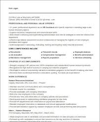 Sample Hr Executive Resume by Sample Hr Executive Resume 7 Examples In Word Pdf