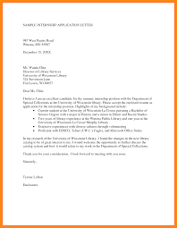 cover letter asking for internship cover letter for science internship image collections cover