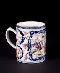 mandarin porcelain export mandarin porcelain handled mug