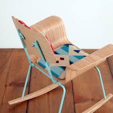 Modern Wooden Rocking Chair Roxy Kid Rocker Onefortythree