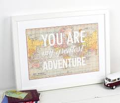 World Map Posters by You Are My Greatest Adventure World Map Poster Map Art