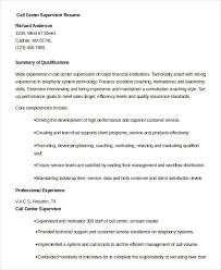 Resume Examples Qualifications call center resume example 9 free word pdf documents download