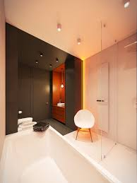 Bathroom Home Design by Gorgeous Contemporary Home With Autumnal Hued Decor