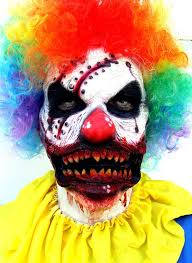 Scary Clown Costumes Halloween 25 Scary Clown Mask Ideas Creepy Clown