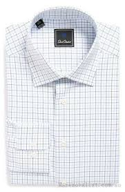 man men u0027s blue white dress shirts shirt david donahue regular fit