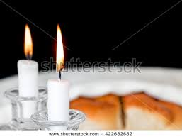 sabbath candles shabbat candles stock images royalty free images vectors