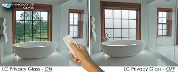 Innovative Glass Corporation Project Bathroom Privacy Windows - Glass bathroom