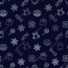halloween seamless backgrounds halloween seamless background u2014 stock vector moiseev 78728850