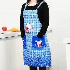 Apron Designs And Kitchen Apron Styles Fu Korean Version Of The Rabbit Apron Kitchen Apron