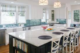 blue backsplash kitchen turquoise backsplash ideas house of turquoise