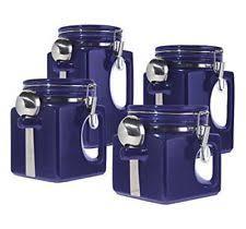 oggi kitchen canisters oggi ceramic kitchen canister sets ebay