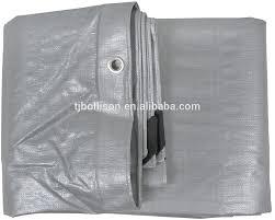 60x120 silver heavy duty uv treated tarp roof ice rink liner cover