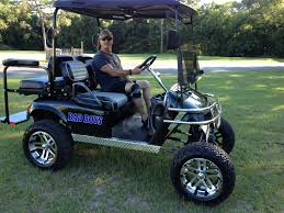 lifted golf cart custom ezgo golf carts golf carts pinterest