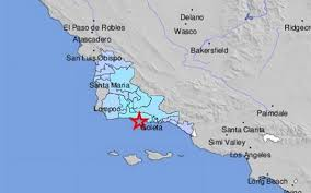 Simi Valley Map Earthquakes Hit Near Isla Vista In Santa Barbara County The Tribune