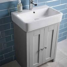 Grey Vanity Unit Tavistock Lansdown Vanity Unit Lan550b Pg Sb900s 540mm Floor