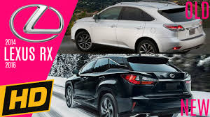 lexus nx changes for 2016 2014 2016 lexus rx suv design changes youtube
