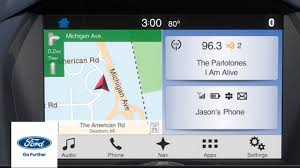 Ford Sync Map Update Sync 3 All New Enhanced Features Sync 3 How To Ford Youtube