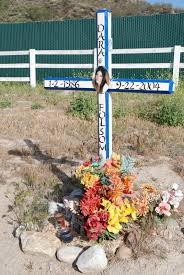 memorial crosses for roadside roadside memorial 2 tuesday 4 24 2007 any given sundry