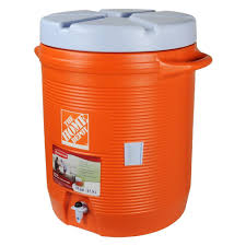 Home Depot Jobs In San Antonio Tx Rubbermaid 10 Gal Orange Water Cooler Fg1610hdoran The Home Depot