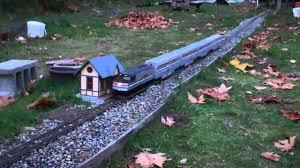 g scale trains amtrak f40ph 4 superliner coaches