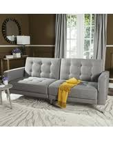 don u0027t miss this deal on safavieh soho tufted foldable sofa bed in grey