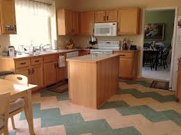 tiled kitchen floors ideas zigzag patterns in kitchen chevron and herringbone