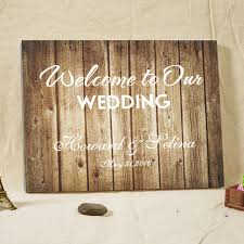 Rustic Wedding Guest Book Aliexpress Com Buy Rustic Wedding Guest Book Alternative Welcome