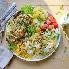 assiette de cuisine assiette froide au poulet le coin cuisine
