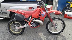 canadian 1988 honda cr250 restorations old moto