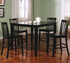 Awesome Black Kitchen Table Gallery Aamedallionsus - Black kitchen table