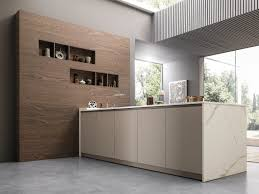 eko kitchen with peninsula eko collection by pedini