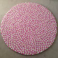 Rugs For Baby Room Light Pink Round Rug For Nursery Creative Rugs Decoration