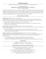Sample Resume For Trainer Position by Resume