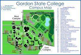 building floor plans gordon state college