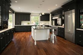 rta wood kitchen cabinets 10x10 price 1 691 gramercy midnight black cabinets tsc usa