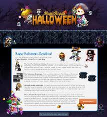 halloween city game event halloween 2016 mapleroyals