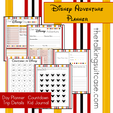 daily planner free template get ready for your disney vacation free printable disney get ready for your disney vacation free printable disney vacation planner