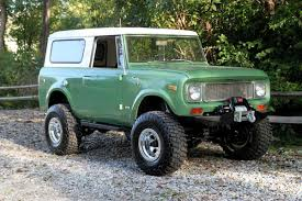 Old Ford Truck Lifted - vintage monday 1961 to 1971 international harvester scout off