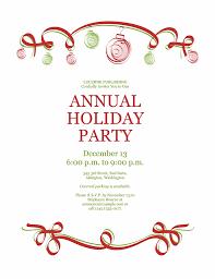 holiday invitation card template best idea christmas 2017
