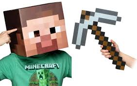 minecraft costume minecraft 12 steve pickaxe costume kit motorcycles