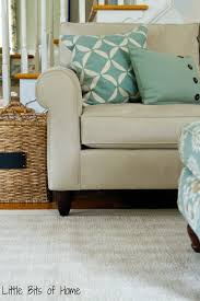 Pottery Barn Chenille Rug by Living Room Makeover The Rug Saga