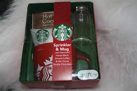 gift sets for christmas christmas gift ideas for him 2 starbucks sprinkler mug