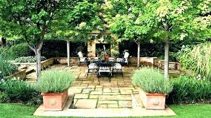 Privacy Garden Ideas Garden Screening Privacy Ideas Fence And Hedge Combination For