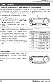 20651x50 hf 50 mhz amateur transceiver users manual ft